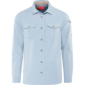 Craghoppers NosiLife Adventure II Long Sleeved Shirt Herre fogle blue
